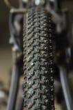 Aventura de la bici Fotografía de archivo
