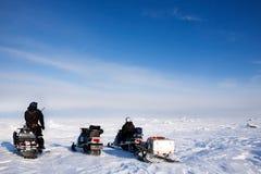 Aventura de Svalbard Imagem de Stock Royalty Free