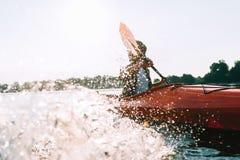 Aventura del río Foto de archivo libre de regalías