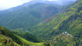 Aventura do curso Vista do pico pequeno do ` s de Adam, Sri Lanka filme
