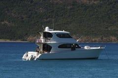 Aventura do desporto de barco Fotografia de Stock