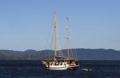 Aventura do desporto de barco Foto de Stock