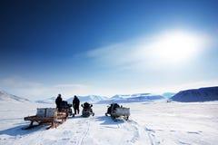 Aventura do inverno imagens de stock royalty free