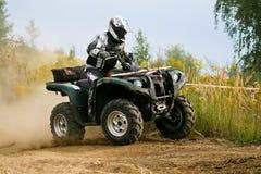 Aventura do quadrilátero de ATV Imagens de Stock Royalty Free