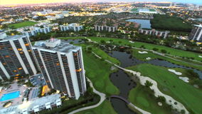 Aventura Florida aerial video Royalty Free Stock Photos