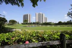 Aventura golf course Stock Photo