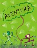 Aventura. Jungle life adventure Stock Photography
