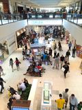 Aventura mall busy Sunday Stock Photo