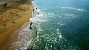 Aventura na praia imagens de stock royalty free