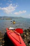 Aventura Watersports de la canoa Imagen de archivo
