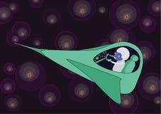 Aventuras cósmicas Fotos de Stock Royalty Free