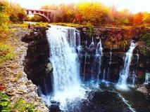 Aventuras da cachoeira foto de stock royalty free