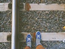 Aventuras da estrada de ferro imagem de stock royalty free