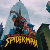 Aventuras del hombre araña fotos de archivo libres de regalías