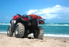 Aventure d'ATV Photographie stock