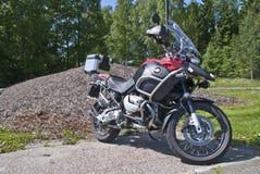Aventure de BMW r 1200 gs Images libres de droits
