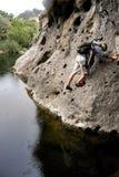 Aventure de crique de Malibu Photos stock