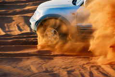 Aventure de désert Image stock