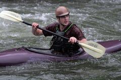 Aventure de kayak Photos stock