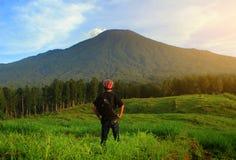Aventure de montagne Images libres de droits