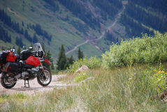 Aventure de moto Photographie stock libre de droits