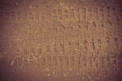 Aventure de voie de sable Photographie stock
