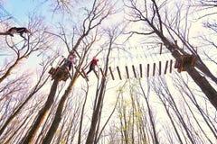 Aventure en nature, sport extrême Image libre de droits