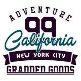 Aventure la Californie Photos libres de droits