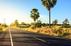 Aventure locale de route Images libres de droits