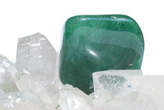 Aventurine gem Stock Photo