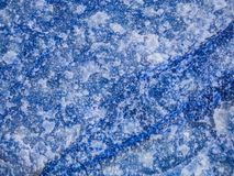 Blue Aventurine Up Close. Aventurine is an opaque Quartz, that is speckled with shiny particles usually of mica, but sometimes hematite, goethite or chlorite Royalty Free Stock Photo