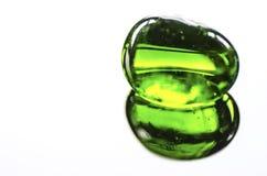 Aventurine verde Imagen de archivo libre de regalías