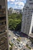 Avenua Paulista στοκ φωτογραφία