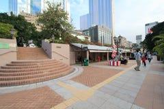 Avenue of Comic Stars in Hong Kong Stock Photo