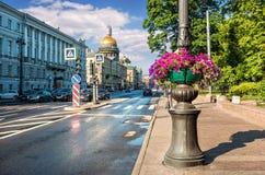 Avenue d'Amirauté Image libre de droits