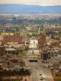 Avenue d'EL Dorado à Bogota, Colombie images stock