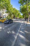 Avenue de Bagdat, Istanbul Photographie stock libre de droits