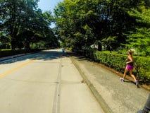 Avenue de Bellevue, Newport images stock