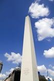 avenue de 9 de Julio avec Corrientes Photographie stock libre de droits
