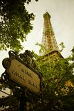 Avenue de Gustave Eiffel Image stock