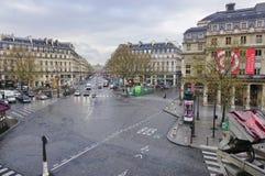 The Avenue de l'Opera in Paris Stock Image