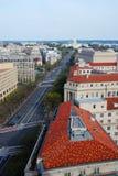 Avenue de la Pennsylvanie, Washington DC Images stock
