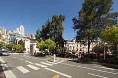 Avenue de la Porte Neuve, Monaco. Stock Photography