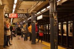 Avenue de Lexington/cinquante-et-unième station de métro Photos libres de droits