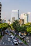 Avenue de mars 25,2017 Makati chez Makati Image stock