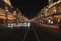 Avenue de Nevsky Image stock
