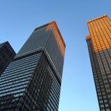Avenue de parc Au coucher du soleil Photographie stock libre de droits