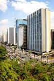 Avenue de Paulista - Brésil Photos stock