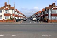 Avenue de St Leonards dans soulevé, East Sussex photographie stock libre de droits
