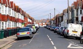 Avenue de St Leonards dans soulevé, East Sussex image stock